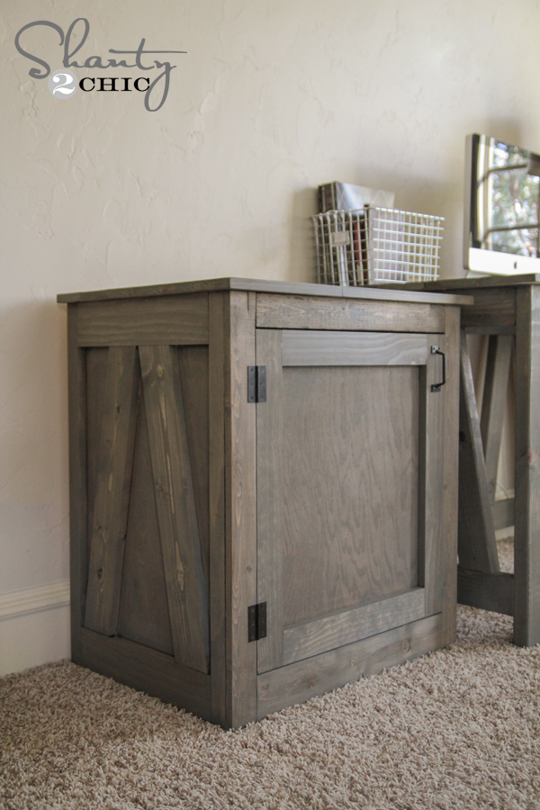 Free Woodworking Plans - DIY Desk or Nightstand