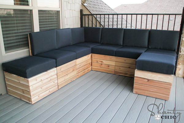 Delicieux DIY Outdoor Seating