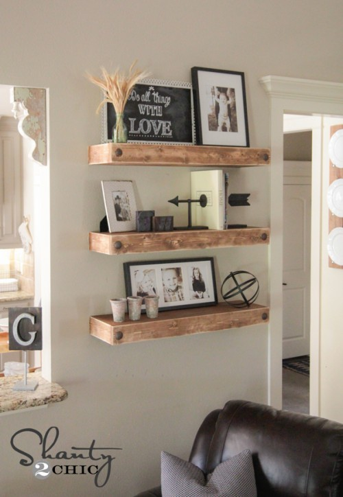 Floating Shelves DIY
