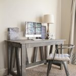 Free Furniture Plans Rustic Truss Desk