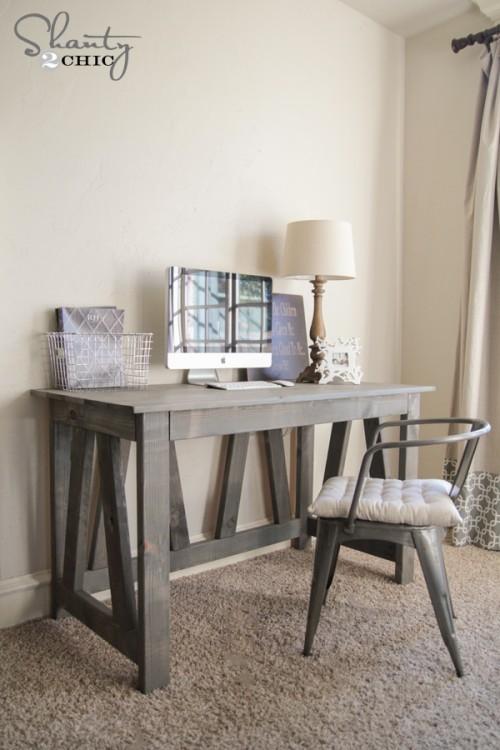 Farmhouse writing table