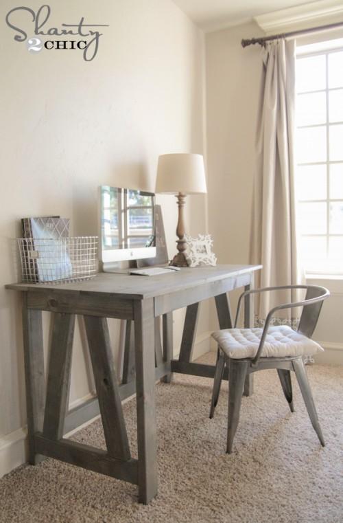 Free Woodworking Plans Desk DIY