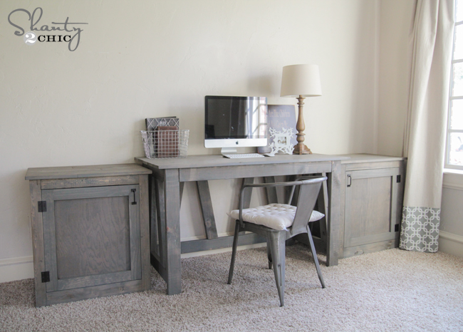 DIY Desk or Nightstand – Free Woodworking Plans