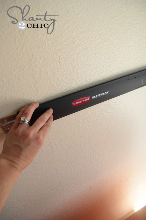 Installing Rubbermaid FastTrack