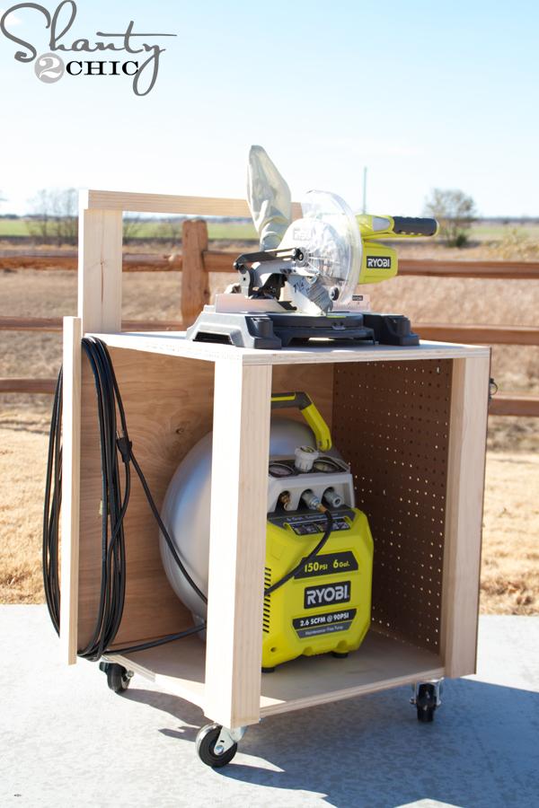 Diy Air Compressor Cart