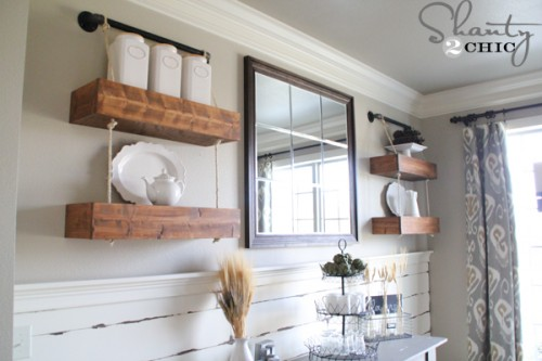 DIY-Floating-Shelves-with-Rope