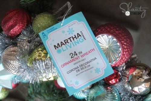 Martha Stewart Wreath at Home Depot