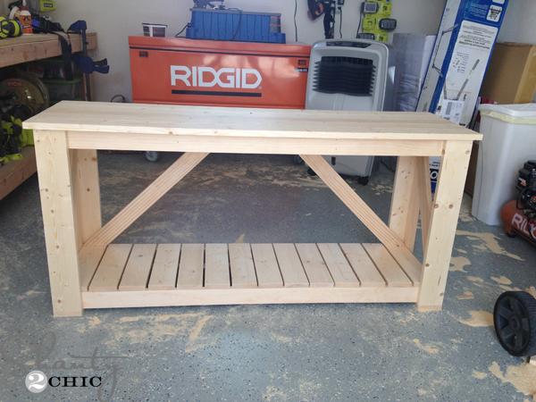 Easy Diy Foyer Table : Easy diy console table