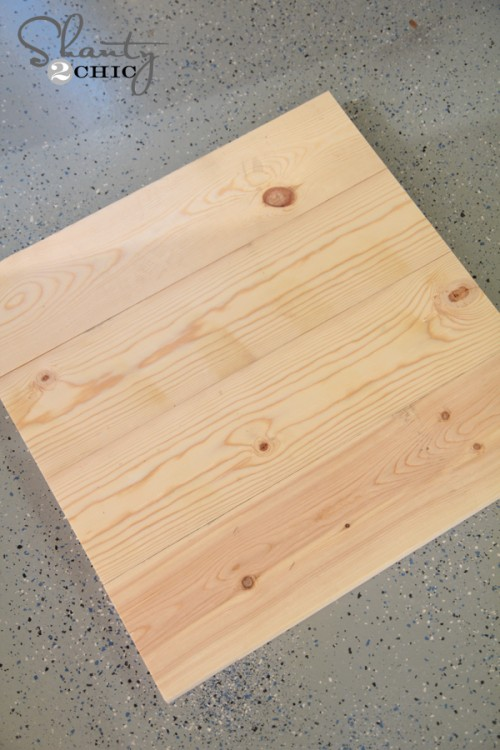 Building a wood sign