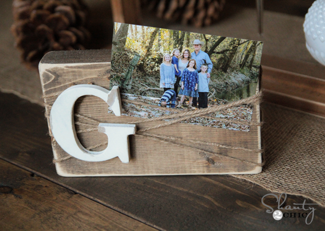 wood photo blocks diy 1