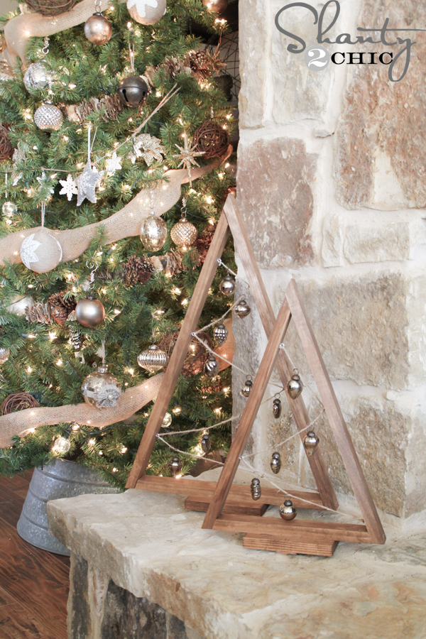 DIY Ornament Tree - Shanty2Chic