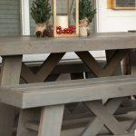 DIY Outdoor Patio Table & Benches