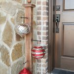 DIY Front Porch Ornament Stand