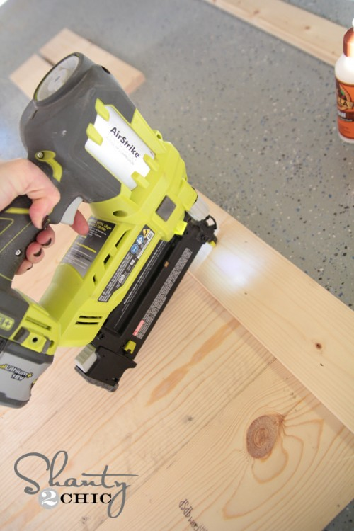 Simple Sign using Brad Nailer