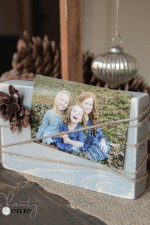 Wood Block Frame DIY