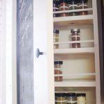 Chalkboard Spice Rack