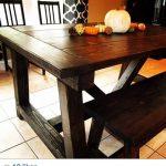 DIY Chunky Dinning Table