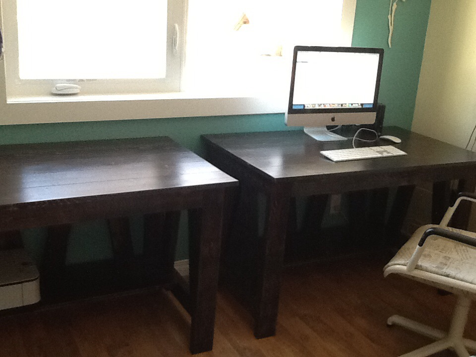 Truss Desk DIY