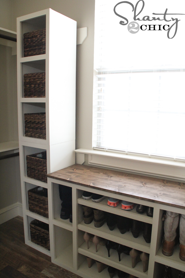 Diy Closet Storage Towers Shanty 2 Chic