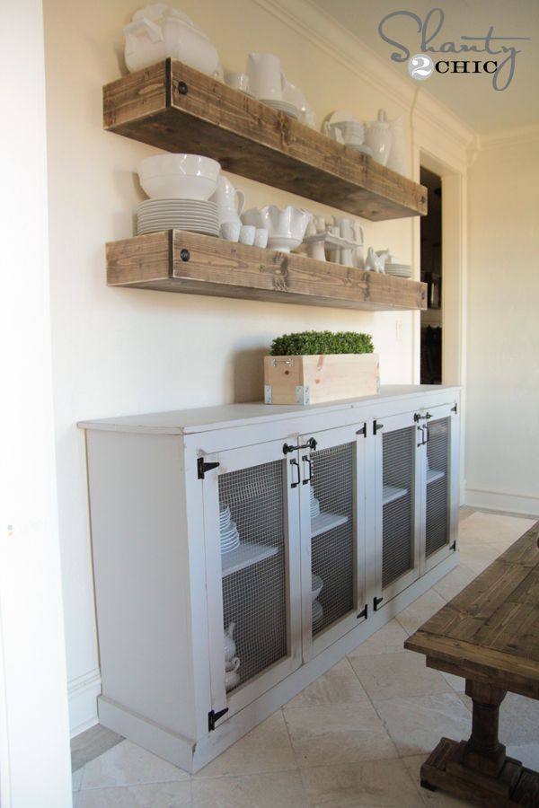 DIY Sideboard by Shanty2Chic