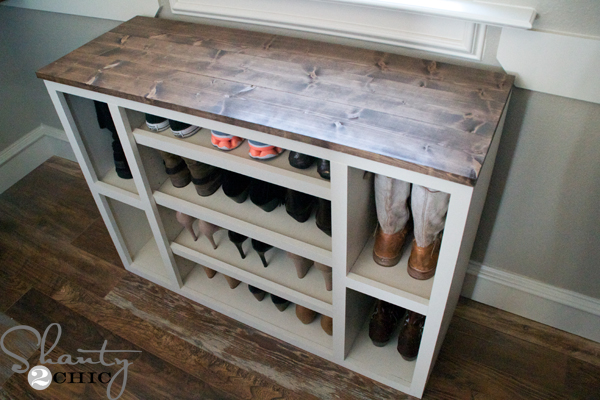 free plans for shoe storage cabinet - Shoe Rack Plans