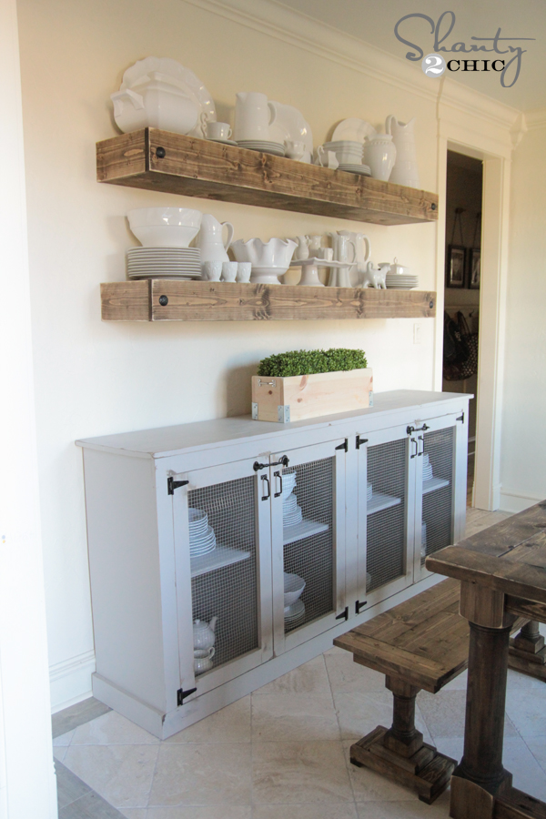 DIY Sideboard - Shanty 2 Chic