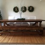 Diy 4×4 beam dining table