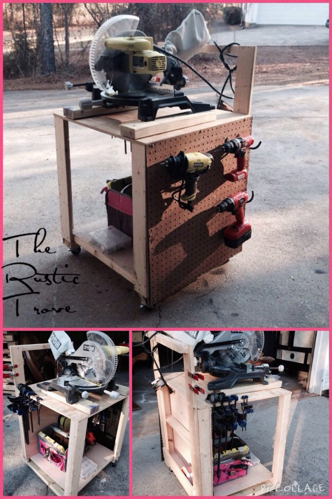 DIY Air Compressor Cart - Shanty 2 Chic