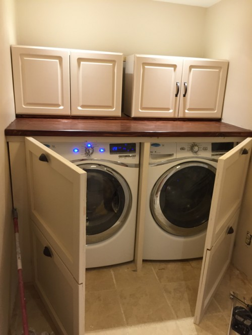 laundry room renovation - shanty 2 chic