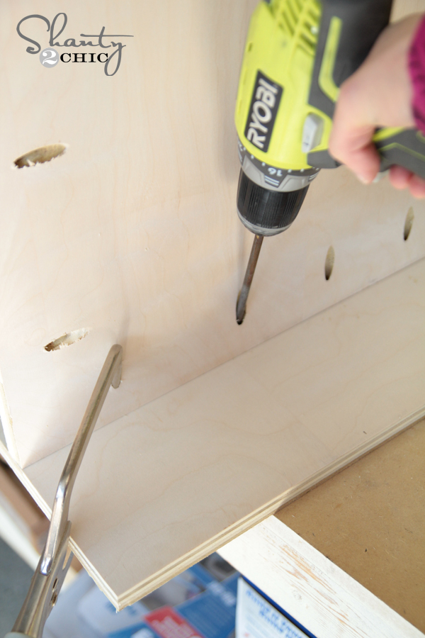 Build nightstands pocket holes