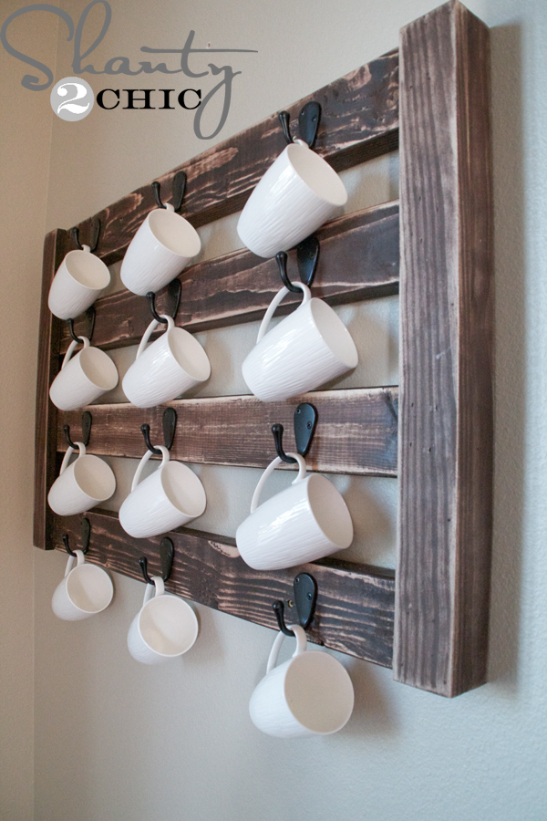 Diy Coffee Mug Display Shanty 2 Chic