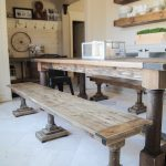 Triple Leg DIY Dining Bench