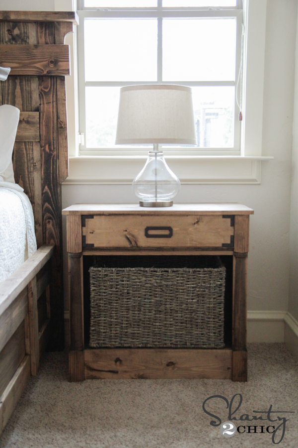 Diy Nightstands Free Woodworking Plans Shanty 2 Chic