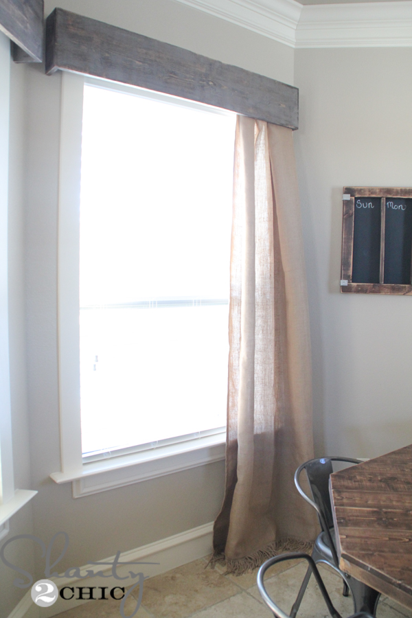 Diy Wooden Window Cornice Shanty 2 Chic