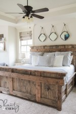 King Bed DIY by Shanty2Chic Free Woodworking Plans