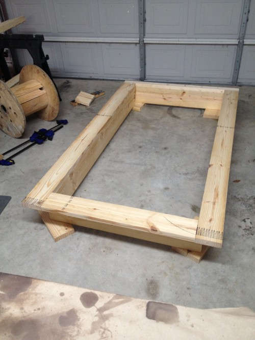 DIY Platform Bed & Headboard (Twin) - Shanty 2 Chic