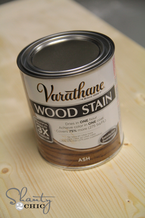 Varathane Wood Stain Ash