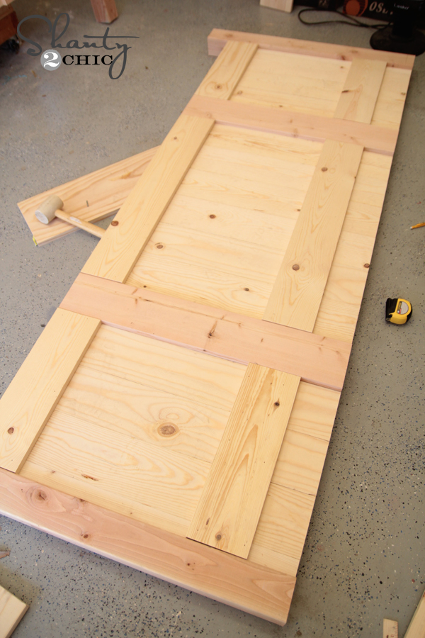 building a king size footboard