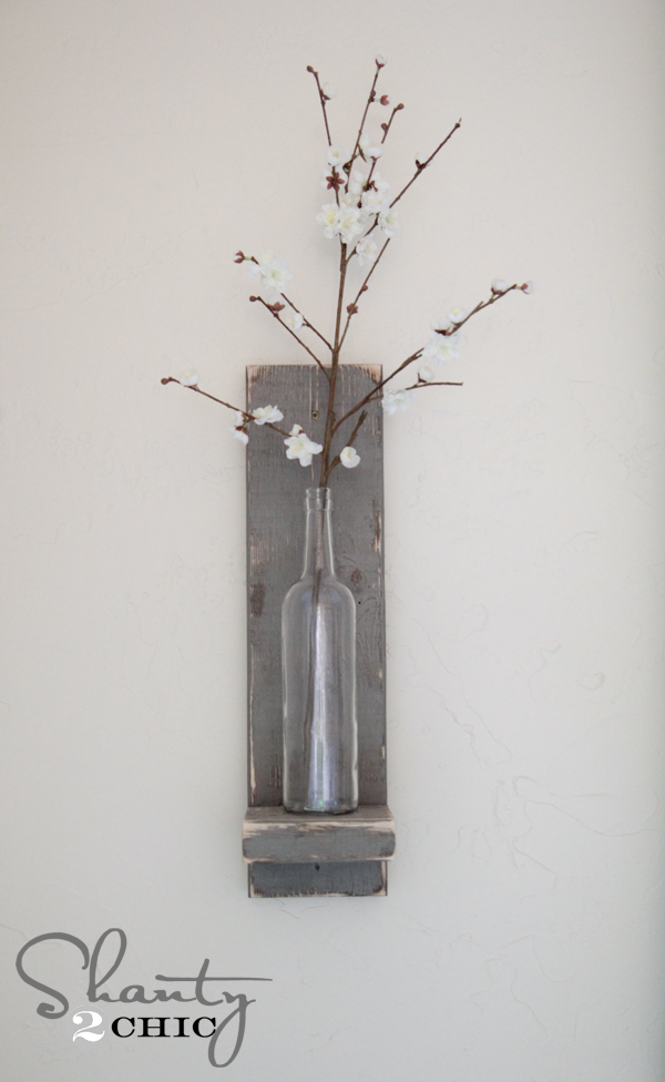 Shanty2Chic Wine Bottle Wall Sconce