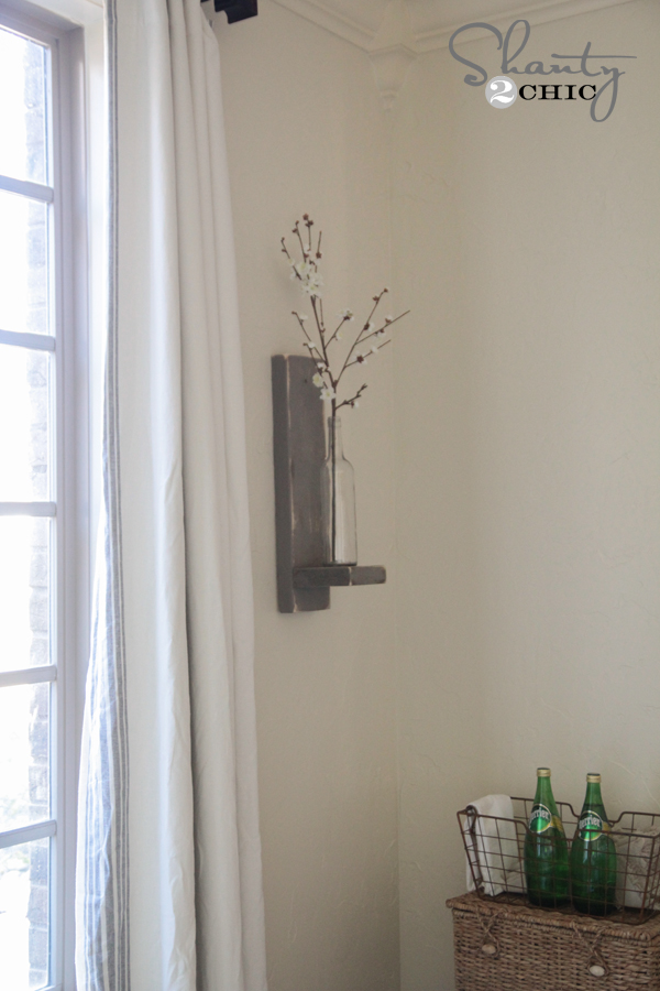 Wine Bottle Wall Sconce by Shanty2Chic