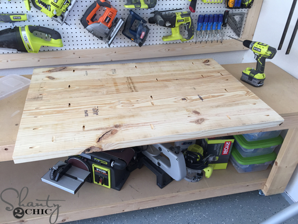 Attach Planks For Top