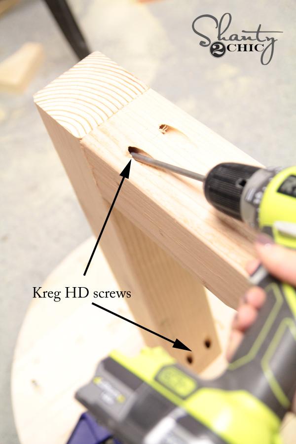 Kreg HD Screws