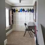 DIY Board and Batten Hat Rack