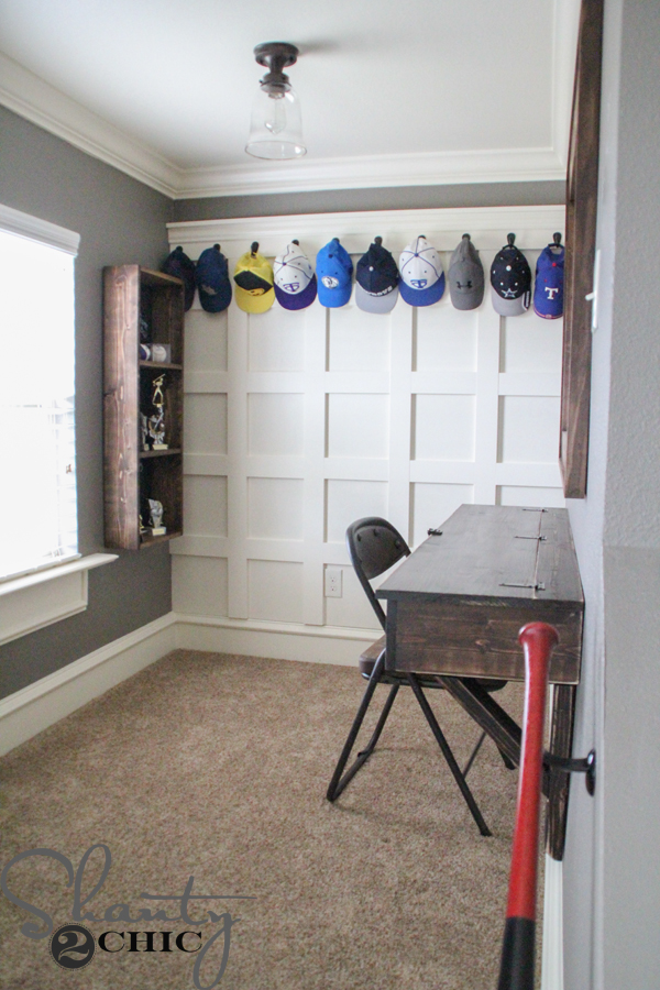 Diy Board And Batten Hat Rack Shanty 2 Chic