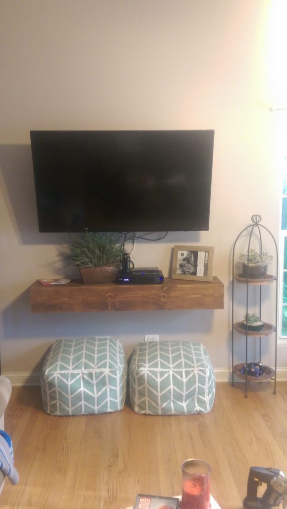 Floating Media Shelf Shanty 2 Chic