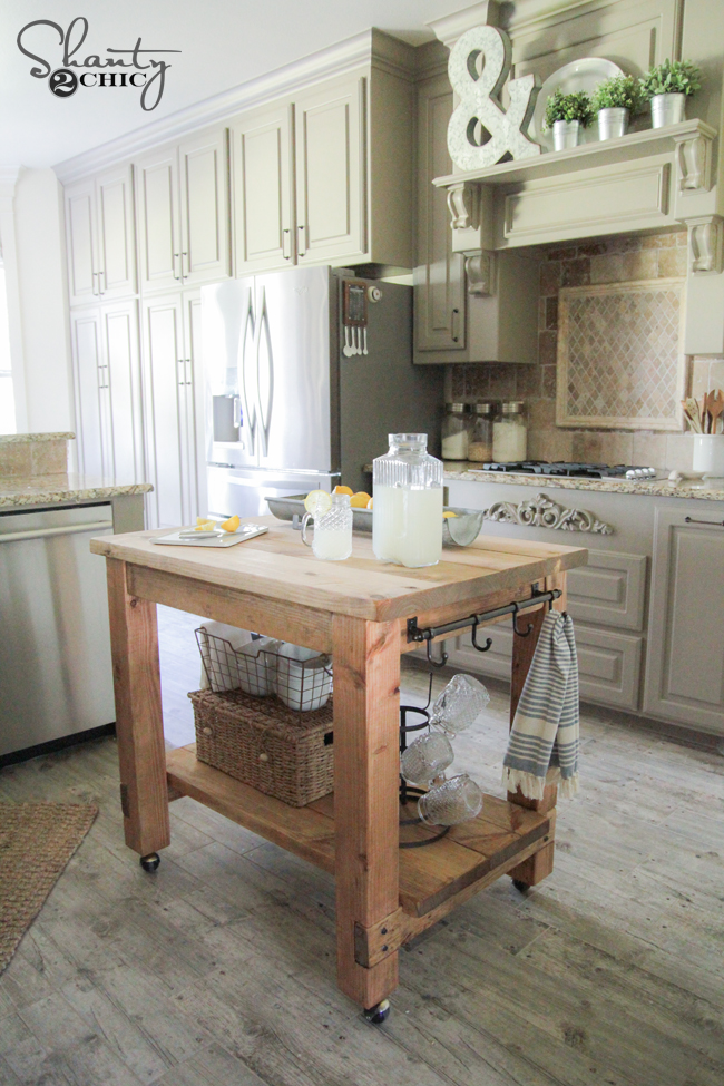 Mobile Kitchen Island Plans Free