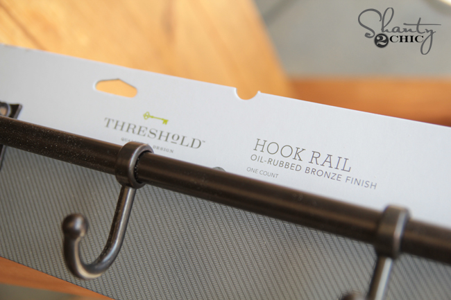 Threshold Hook Rack