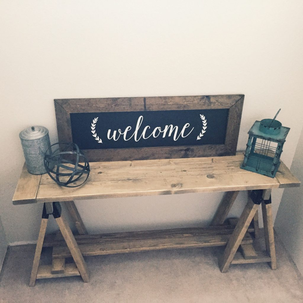 Sawhorse Console Table - Shanty 2 Chic