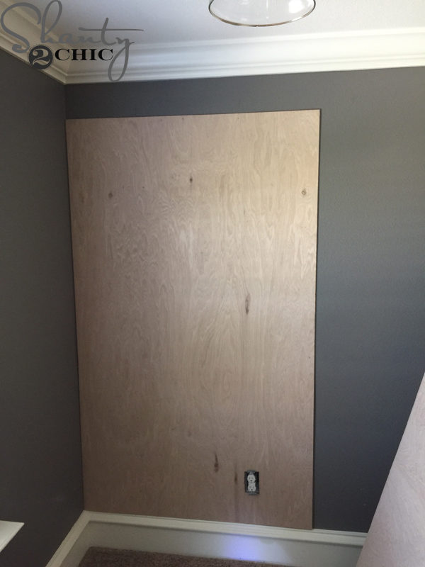 plywood-on-wall
