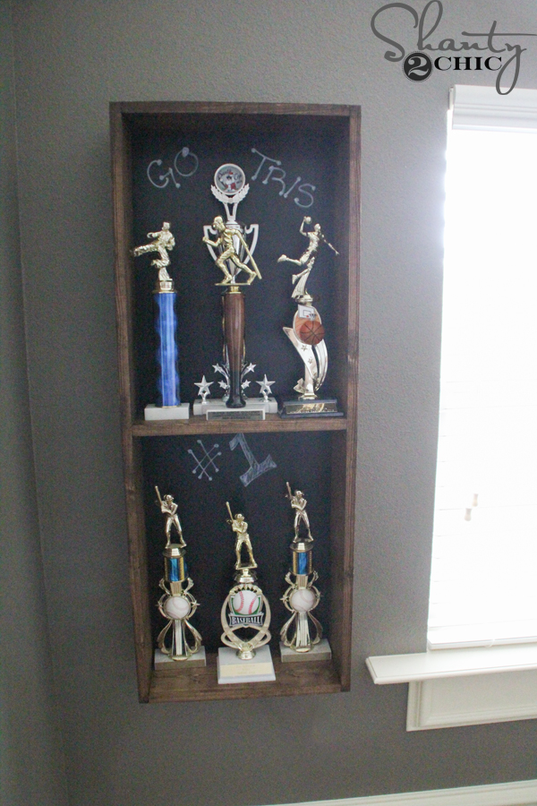 Perfect Trophy Storage Diy